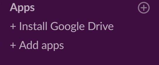 Slack RSS app